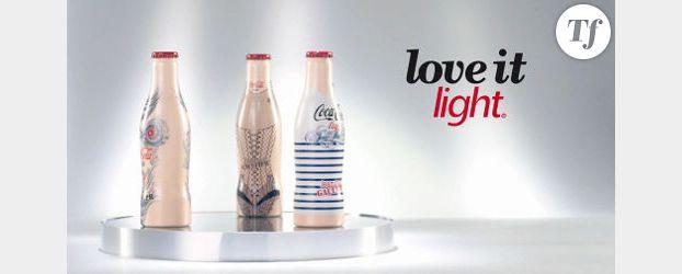 Jean-Paul Gaultier pour Coca-Cola light : les bouteilles collector