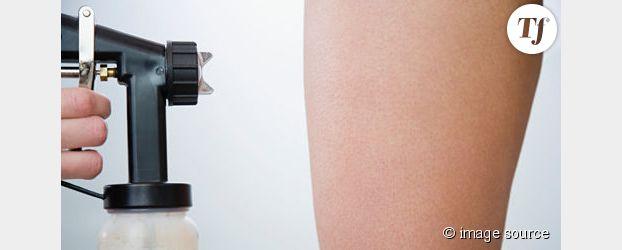 L'autobronzant en aérosol pourrait favoriser le cancer