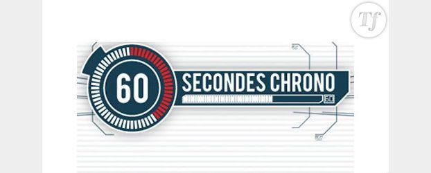 60 Secondes Chrono : le nouveau jeu d'M6 en direct live streaming et replay