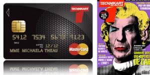 Aqoba pour Technikart : une nouvelle génération de carte bancaire