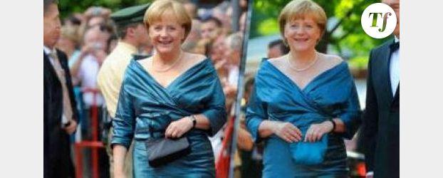 Angela Merkel recycle ses robes