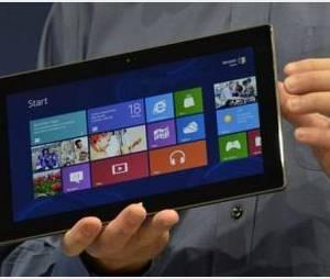 Surface : la tablette de Microsoft en vente le 26 octobre