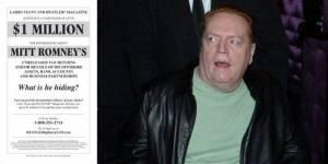 USA : Larry Flynt offre un million de dollars pour des infos sur Mitt Romney