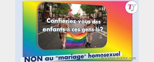 Civitas en campagne contre le mariage et l'adoption pour les couples gays