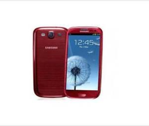 Samsung Galaxy S3 : en version rouge