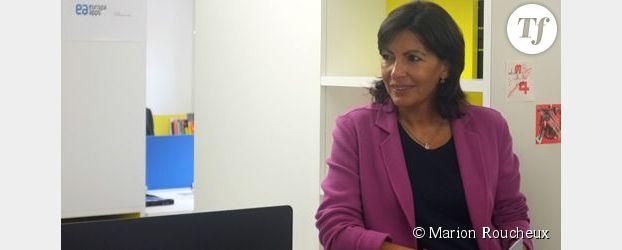 Municipales 2014 : Anne Hidalgo veut conjuguer Paris au féminin
