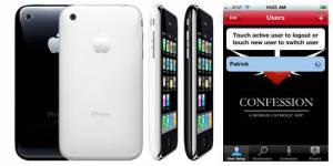 """""""Confession"""" : une application vous permet de vous confesser sur votre IPhone"""