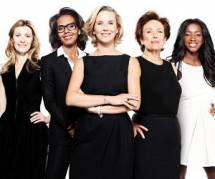 """Laurence Ferrari : Le Grand 8 est l'émission """"d'une bande de copines"""""""