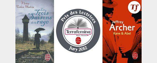 Prix des Lectrices Terrafemina - Le Livre de Poche 2012 : Le roman favori de juin