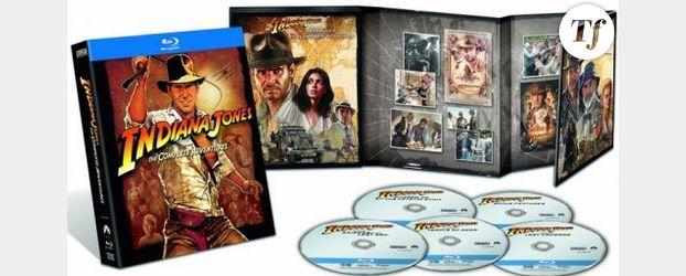 Indiana Jones : Harrison Ford de retour en Blu-Ray