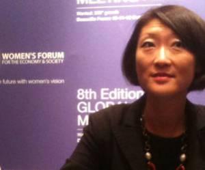 """Women's Forum 2012 : Fleur Pellerin veut voir """"plus de femmes dans le numérique"""""""