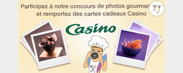 Participez à notre concours de photos gourmandes et remportez des cartes cadeaux Casino* !