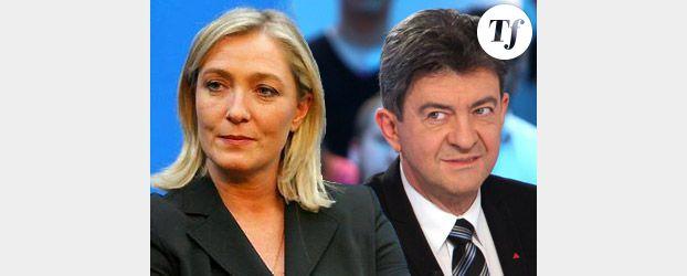 Premier débat de la présidentielle : Le Pen – Mélenchon