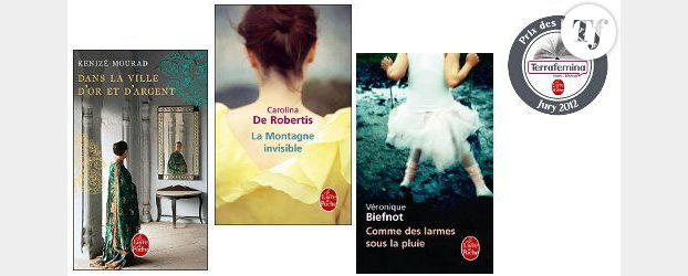 Prix des Lectrices Terrafemina - Le Livre de Poche 2012 : Le roman favori d'août