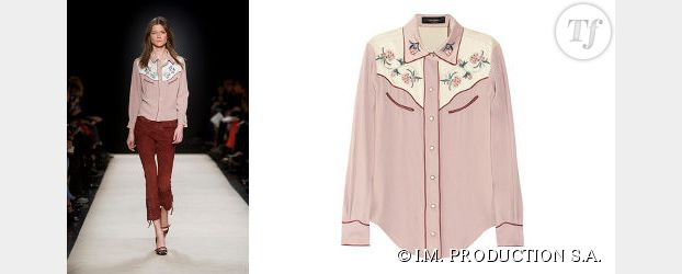 Tendance automne-hiver 2012-2013 : la chemise western