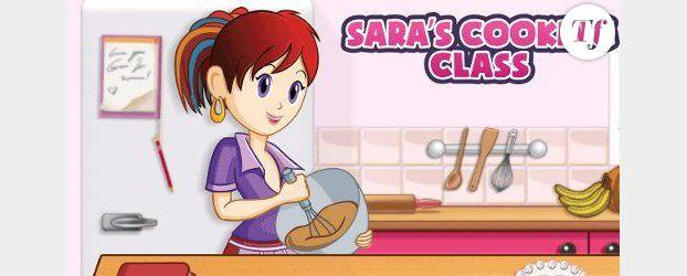 """l'école de cuisine de sara"""" : l'appli mobile des 6-12 ans qui"""
