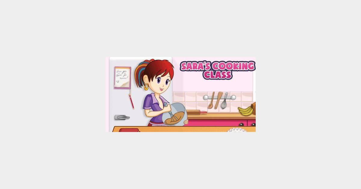 L 39 cole de cuisine de sara l 39 appli mobile des 6 12 ans - Jeu la cuisine de sara ...