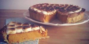Recette de Thanksgiving : tarte de patate douce aux chamallows