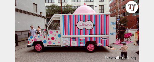 États-Unis  : Milk Truck, le camion pour allaiter à l'abri des regards