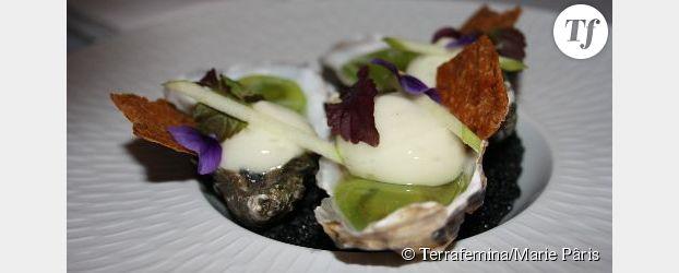 Recette de Noël : les huîtres selon le chef Adrien Manac'h