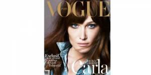 Carla Bruni dans Vogue : pour le mariage gay mais contre le féminisme