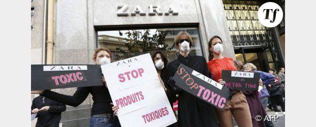 Greenpeace : Zara, Levi's et Calvin Klein épinglés dans un rapport sur les vêtements toxiques