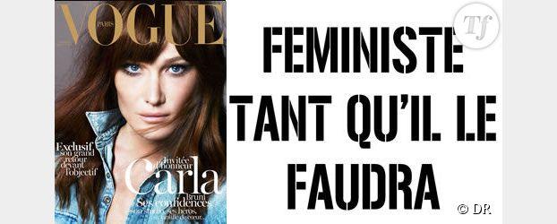 Chère Carla Bruni, les féministes ne vous disent pas merci