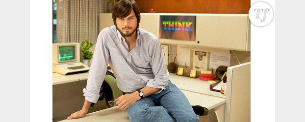Ashton Kutcher transformé en geek pour jouer Steve Jobs