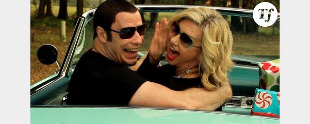 John Travolta et Olivia Newton-John : une chanson après Grease - Vidéo