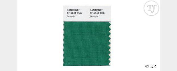 Pantone sacre le vert émeraude couleur de l'année 2013