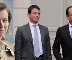 """""""La Frondeuse"""" : Hollande et Valls s'en mêlent et soutiennent Trierweiler"""