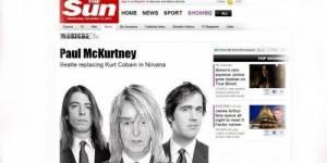 Paul McCartney sur scène avec Nirvana pour un concert surprise