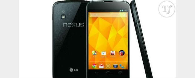 Nexus 4 : impossible d'acheter le smartphone avant la fin du monde 2012