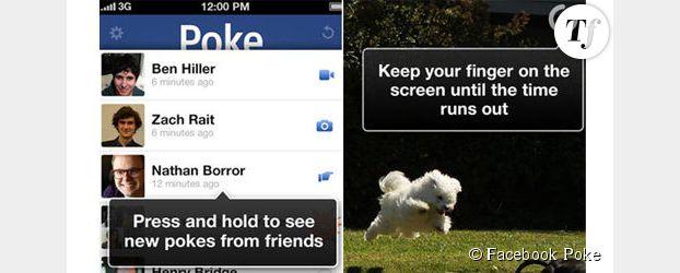 Facebook Poke : votre message s'auto-détruira dans 5 secondes