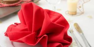 Pliage de serviettes : modèles pour le réveillon du Nouvel An - Vidéos
