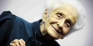 Rita Levi-Montalcini, prix Nobel de médecine est décédée à 103 ans