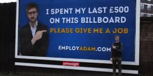 Adam Pacitti, le chômeur roi du CV viral - vidéo