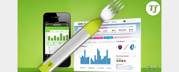 Une fourchette pour apprendre à manger moins vite et ainsi maigrir