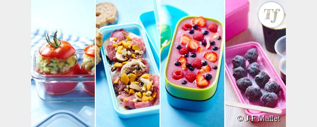 Lunch box : 4 recettes pour bien déjeuner au boulot