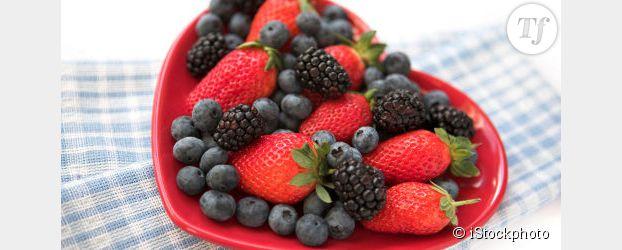 Les fraises et les myrtilles, bonnes pour le coeur des femmes ?