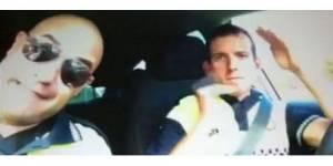 Des policiers parodient un clip en dansant dans leur voiture de patrouille – vidéo