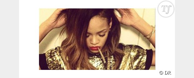 Rihanna fume un joint sur Instagram - Photo