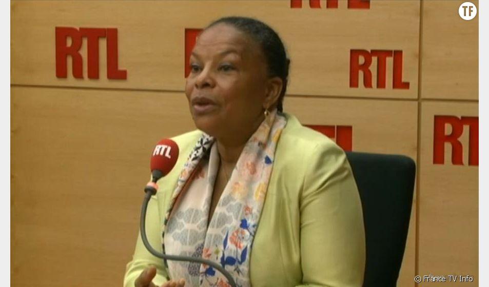 Christiane Taubira au micro de RTL mercredi 11 mars 2015