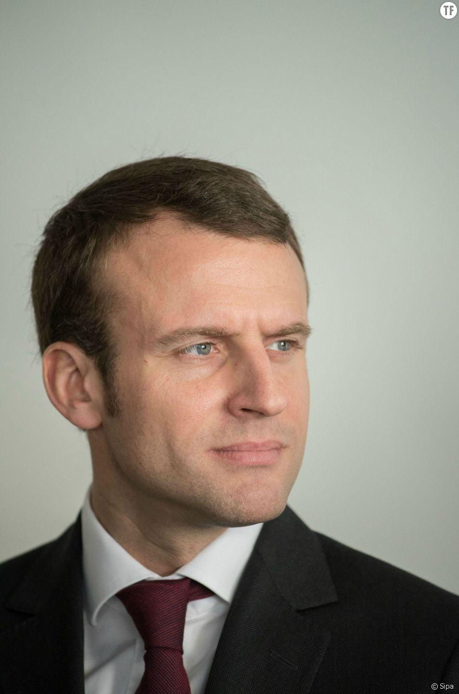 Emmanuel Macron en mars 2015