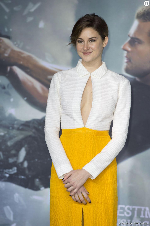 """Shailene Woodley, la star de """"Divergente"""""""