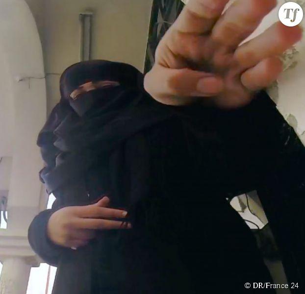 """Haya El Ali, alias """"Rezane"""", l'héroïne de """"La Rebelle de Raqqa"""""""