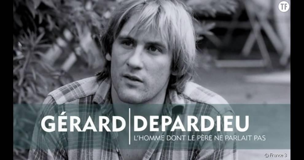 Gérard Depardieu, l'homme dont le père ne parlait pas sur France 3 Replay/France TV Pluzz