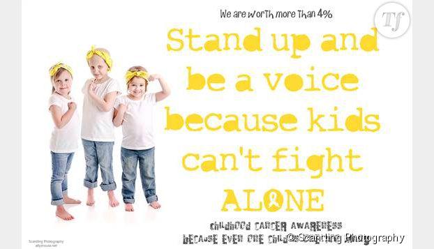 """""""Levez-vous et prenez la parole car les enfants ne peuvent pas se battre seuls"""""""