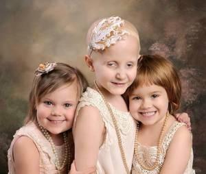 Ces trois courageuses petites filles célèbrent leur victoire contre le cancer