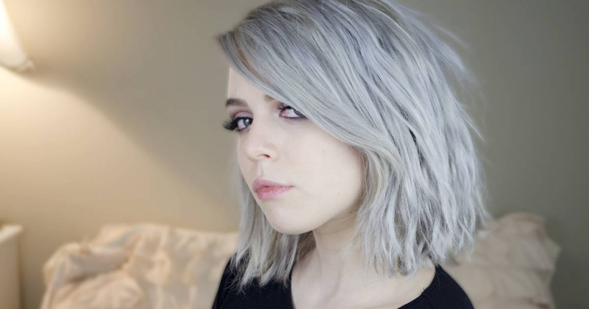 Coloration chatain dore sur cheveux blond